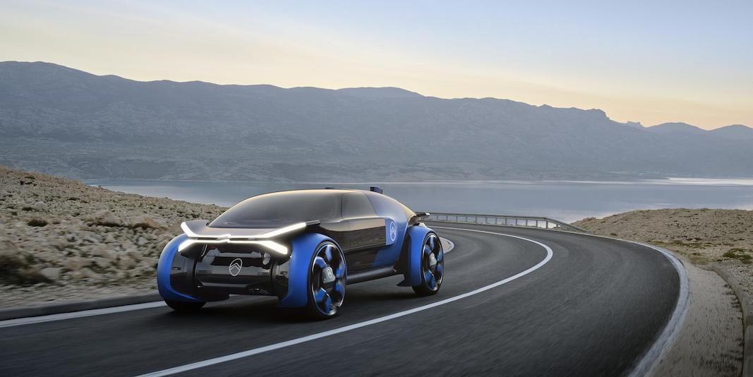 Citroën 19_19 Concept, visión extrema de la movilidad del futuro, con 800 kilómetros de autonomía