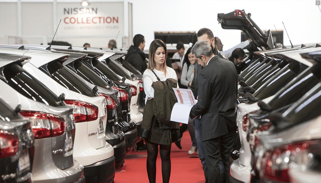 Las transacciones de coches usados disminuyen un 3,5% en abril