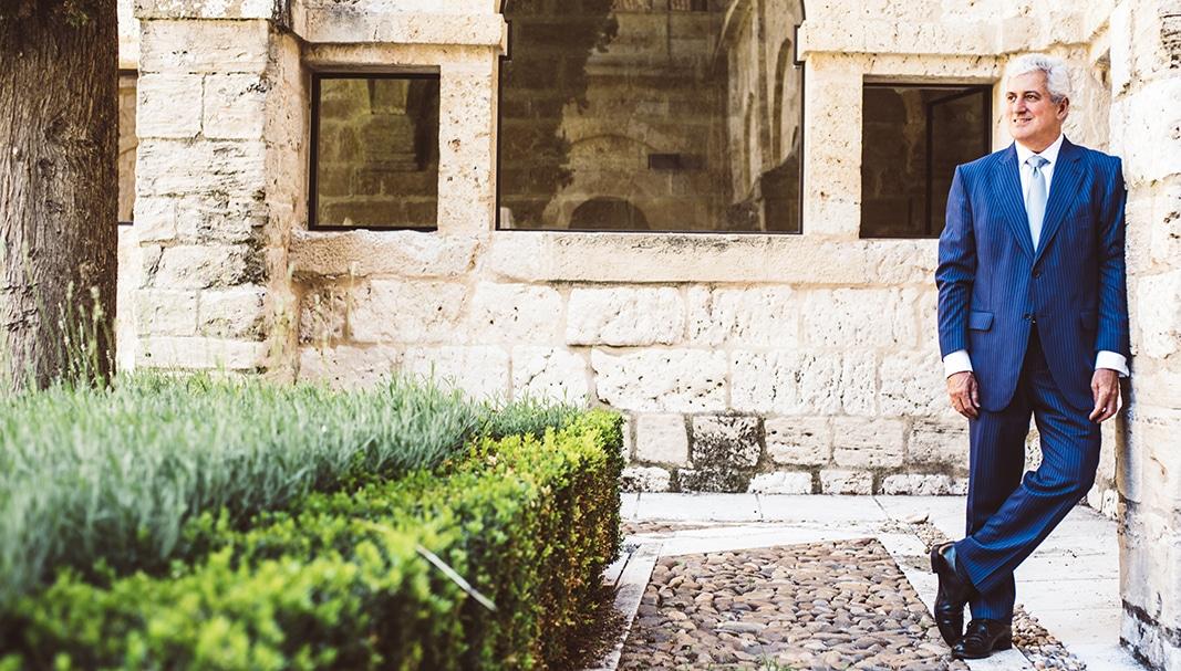 Enrique Valero ejerce desde 2009 la dirección de la bodega Abadía Retuerta