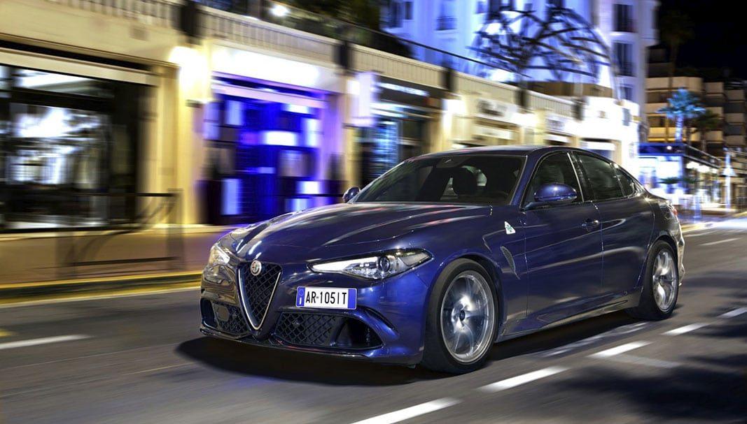 Hertz incorpora a su flota premium el Alfa Romeo Giulia Quadrifoglio