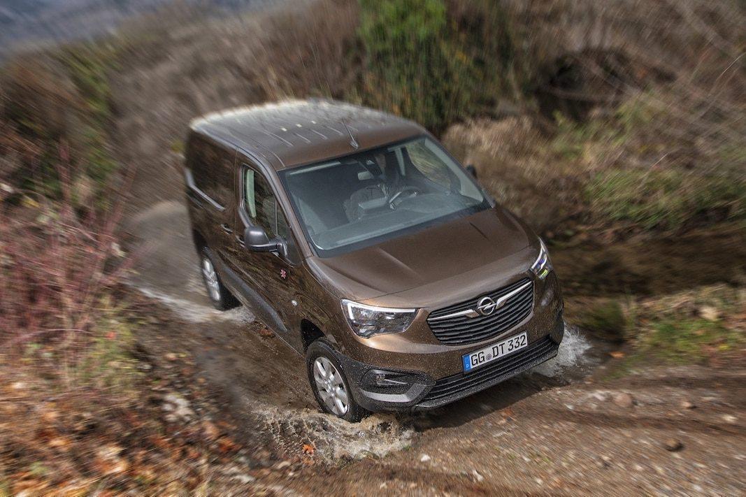 Opel Combo 4×4, una opción que estará disponible en España en el otoño