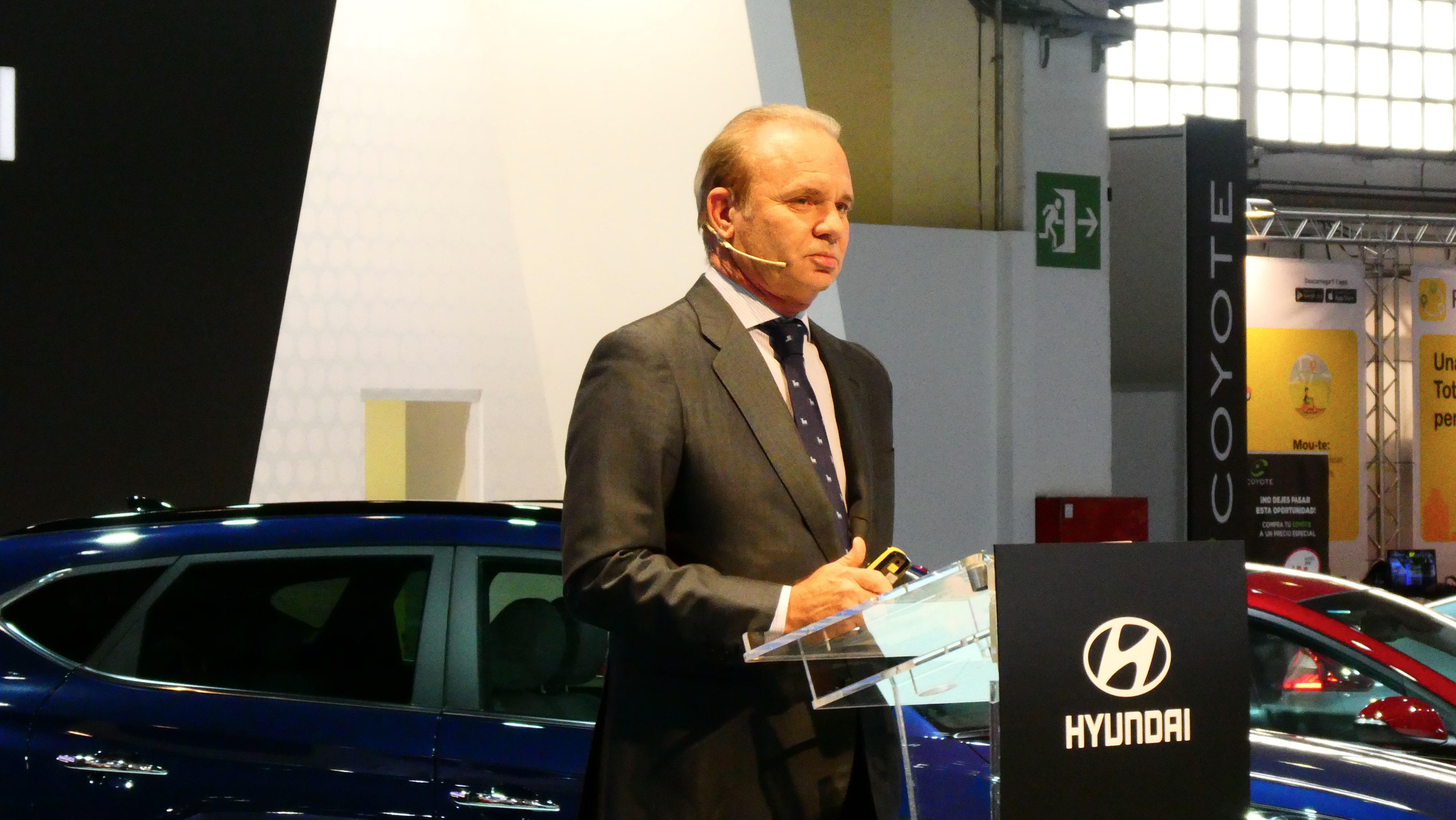 Leopoldo Satrústegui es director general de Hyundai España.