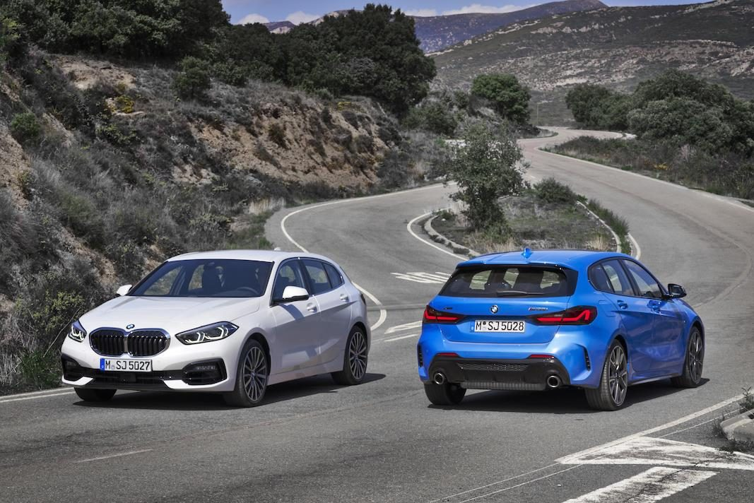 La tercera generación de la Serie 1 de BMW, con tracción delantera
