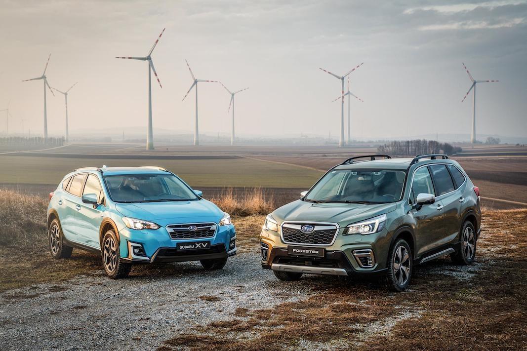 La gama híbrida de Subaru estará en el mercado español el próximo otoño