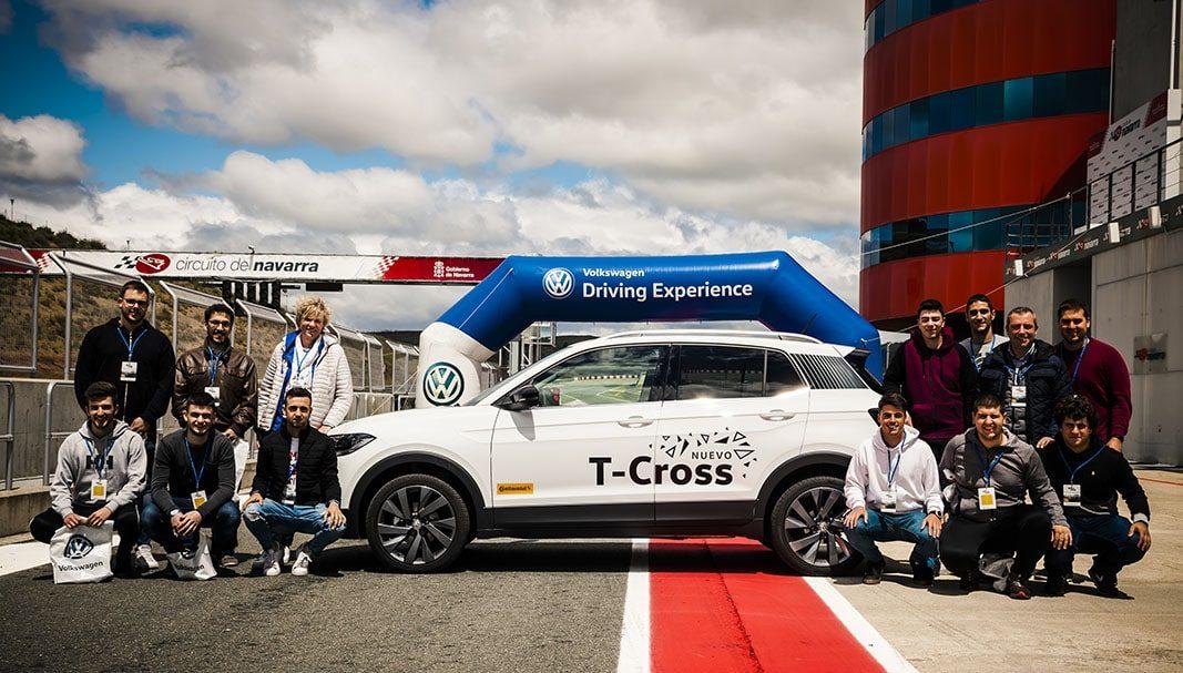 Volkswagen se implica en la formación vial de sus aprendices de Navarra