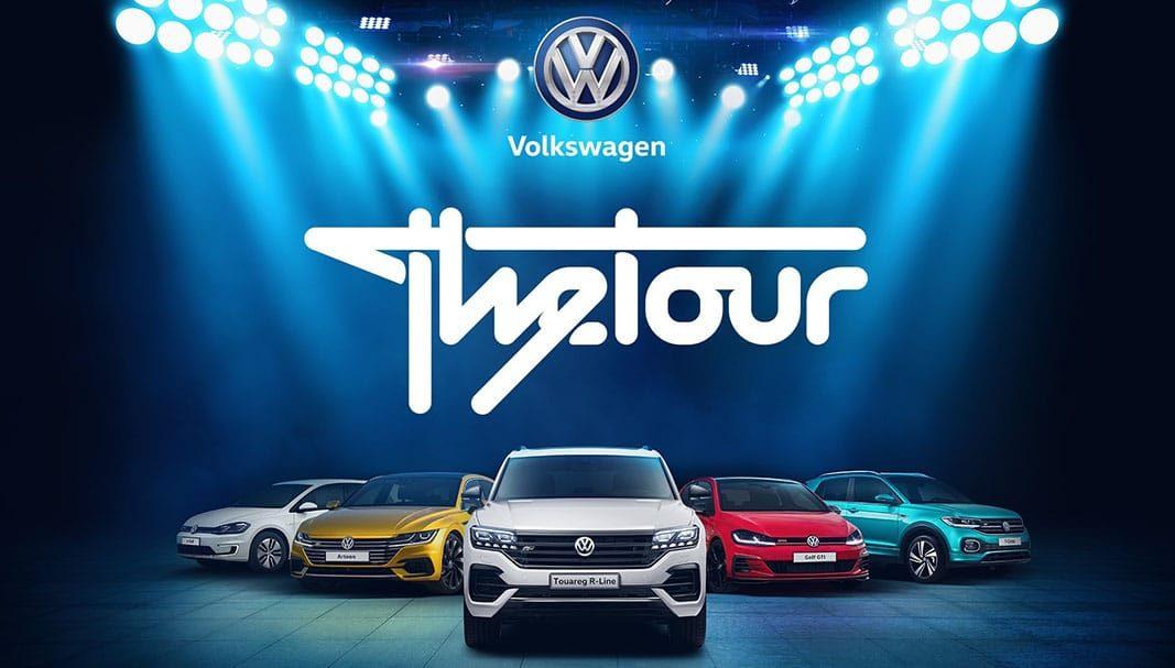 Volkswagen 'The Tour' ofrecerá 10.000 pruebas de conducción en España