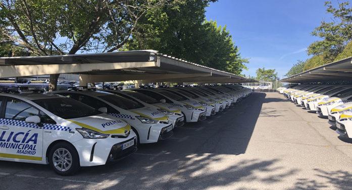 La Policía Municipal de Madrid incorpora a su flota 50 Toyota Prius+