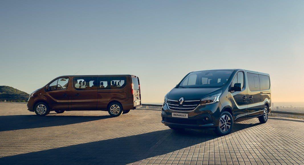 Los nuevos furgones Master y Trafic, de Renault, a partir del mes de septiembre