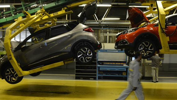 La producción de vehículos en España cae un 6% en mayo