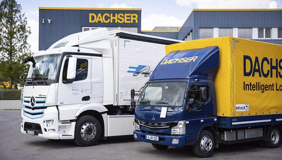 Dachser añade a su flota el vehículo eléctrico eActros de Mercedes-Benz