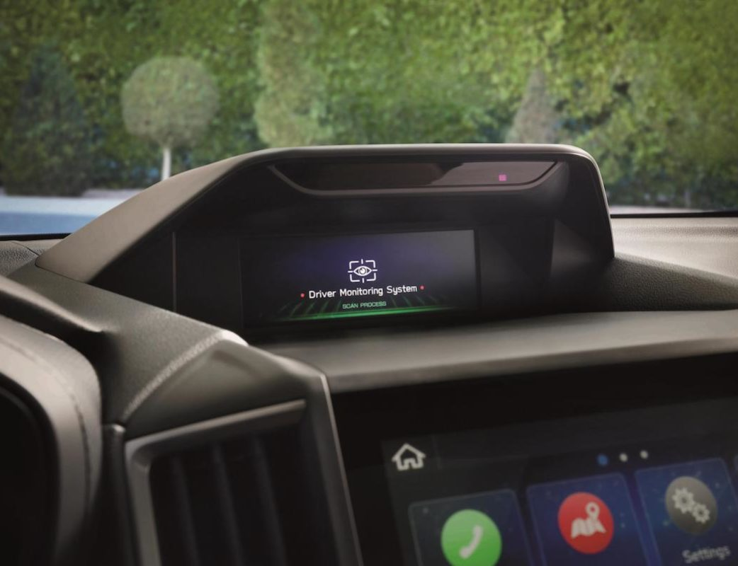 Driver Monitoring System Nuevo Forester