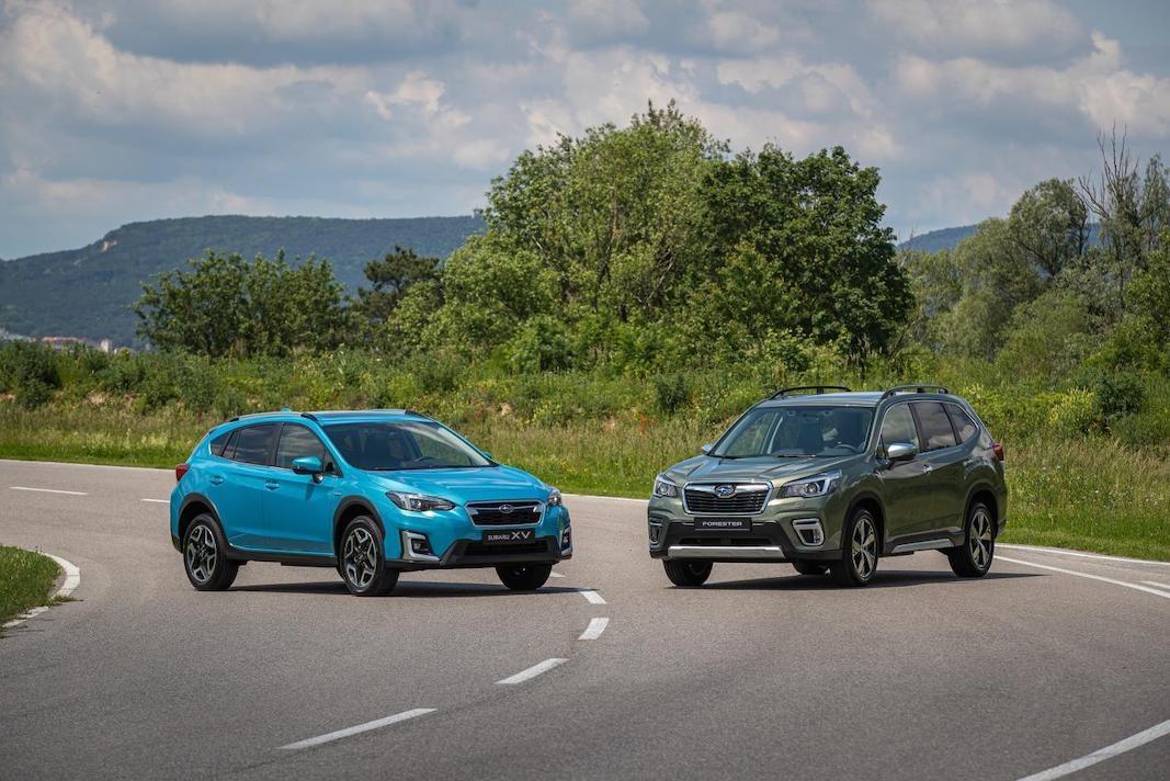 Subaru abre pedidos para sus primeros híbridos: XV y Forester