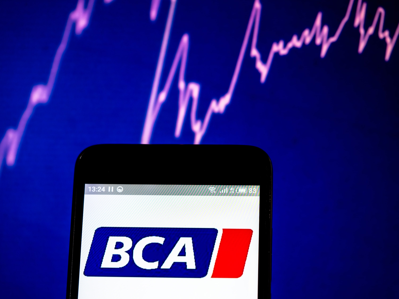 Una imagen con el logo impreso en un móvil de la empresa de subastas británica BCA. // FOTOGARFÍA: IGOR GOLIANOV