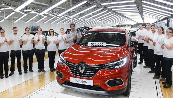 Renault produce 500.000 KADJAR en su fábrica de Palencia