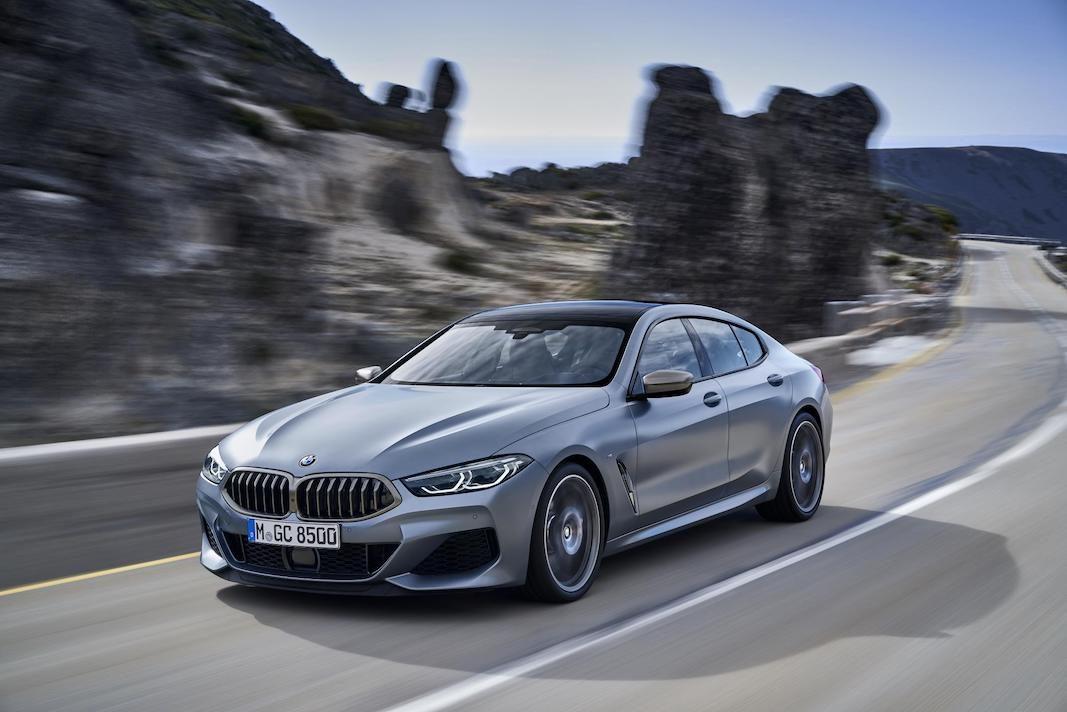 BMW Serie 8 Gran Coupé, un cuatro puertas para la familia Serie 8