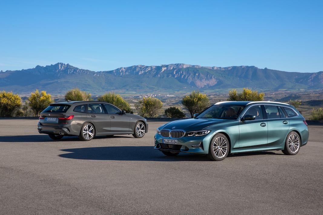 Músculo para el nuevo deportivo familiar BMW Serie 3 Touring