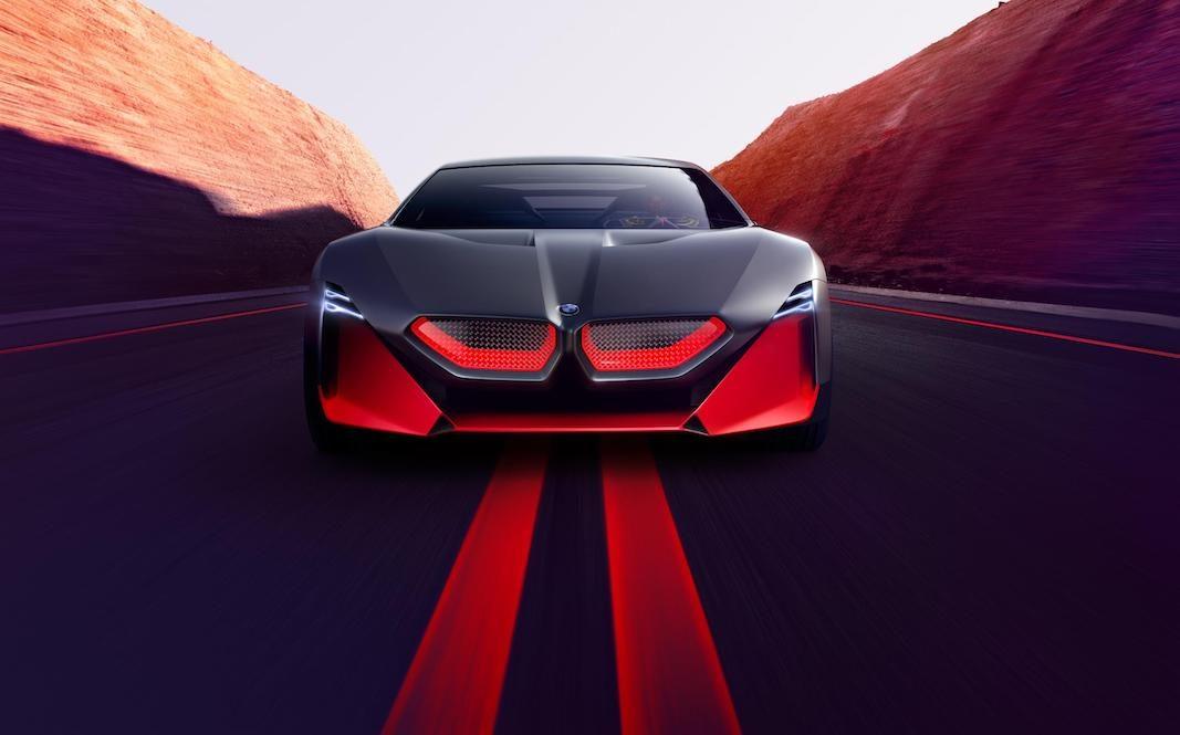 BMW muestra con el Vision M NEXT el futuro de la dinámica de conducción