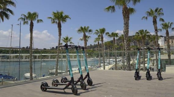 El kicksharing eléctrico de SEAT y UFO, XMOBA llega a Málaga