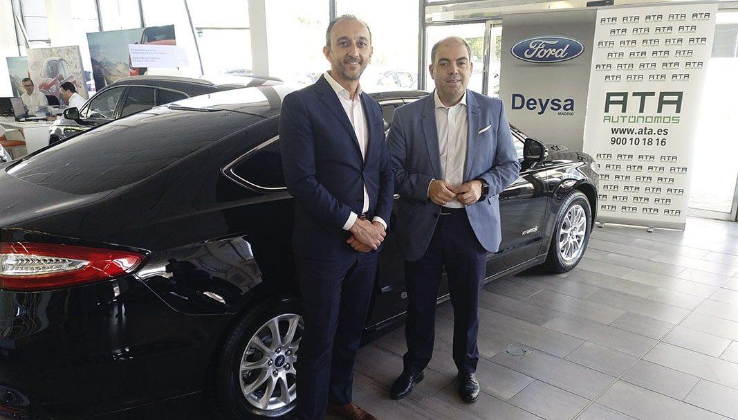 Ford Deysa y ATA ofrecen descuentos especiales para los autónomos