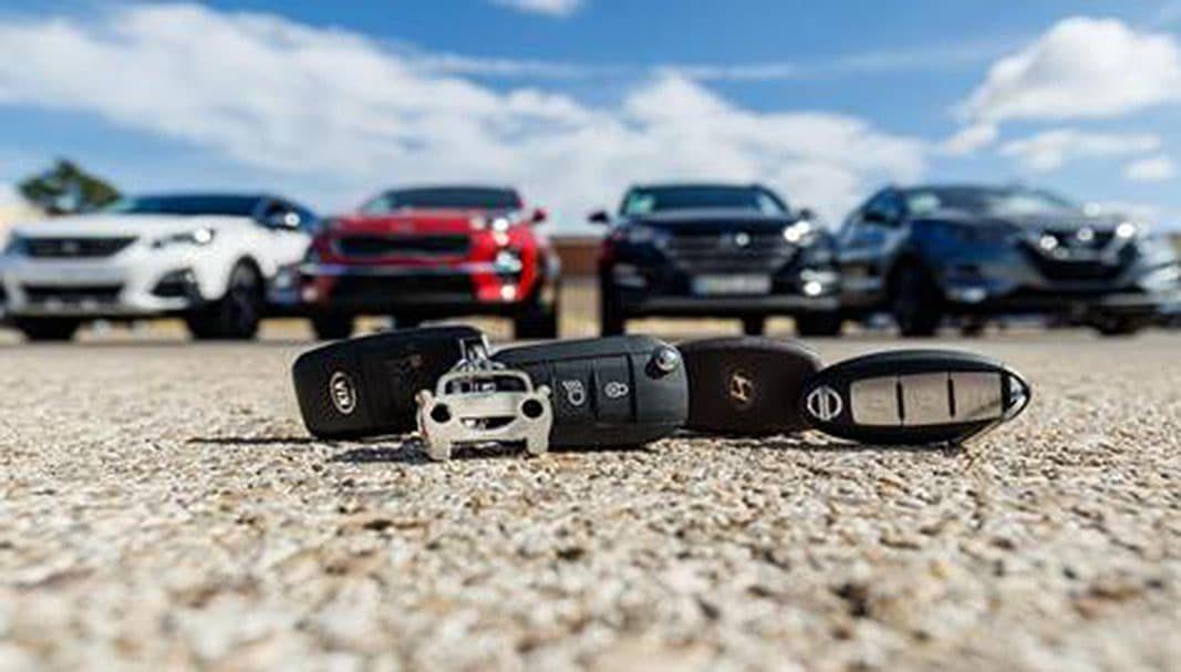 Uno de cada tres coches vendidos online son SUV