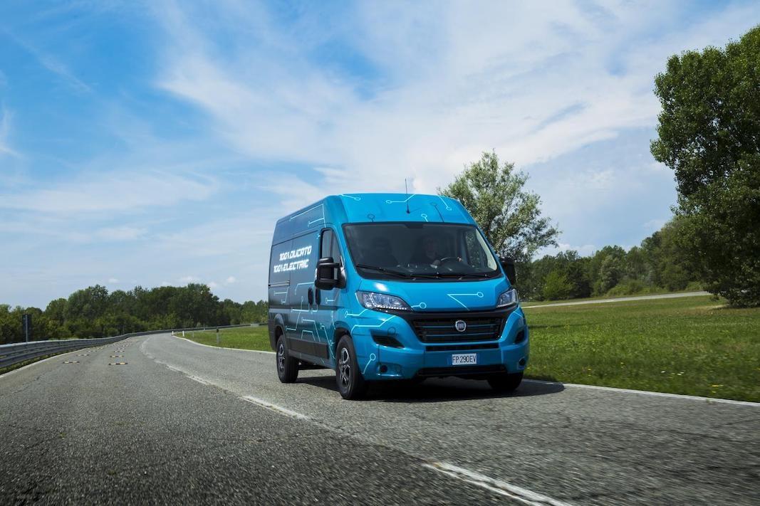 El Fiat Ducato Electric llegará al mercado en 2020 con 220 a 360 km de autonomía