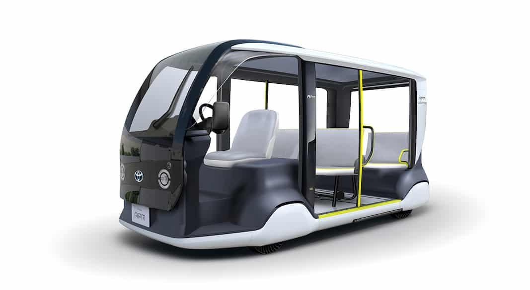 Toyota APM, una alternativa de transporte personal para los Juegos Tokio 2020