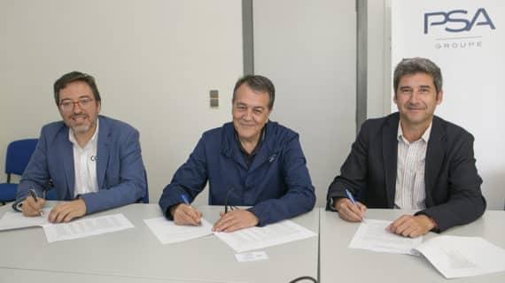 La planta del Groupe PSA de Zaragoza apuesta por la industria 4.0