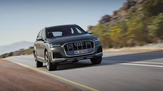 Audi renueva el SQ7 TDI y mantiene el motor V8 de 435 CV  de potencia