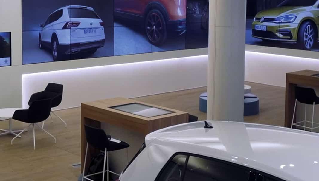 Volkswagen abre en Madrid su primer VW City Store con A.L.M.A.