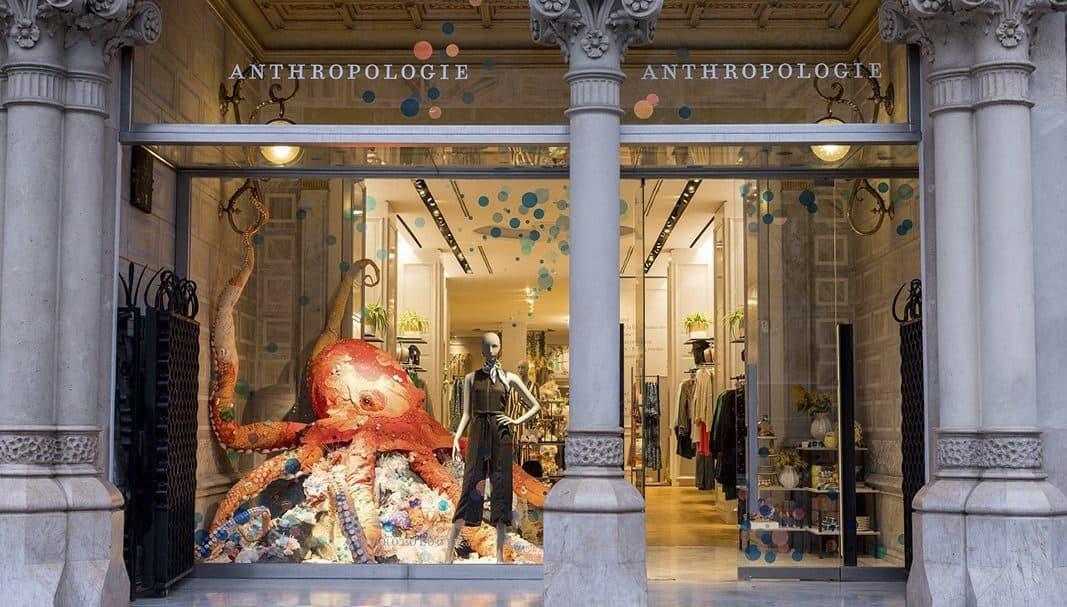 Anthropologie abre su primera tienda en Barcelona