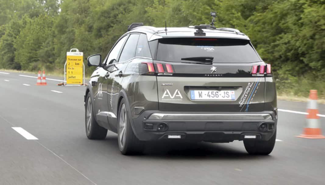El Grupo PSA y Vinci avanzan en sus pruebas en coches autónomos