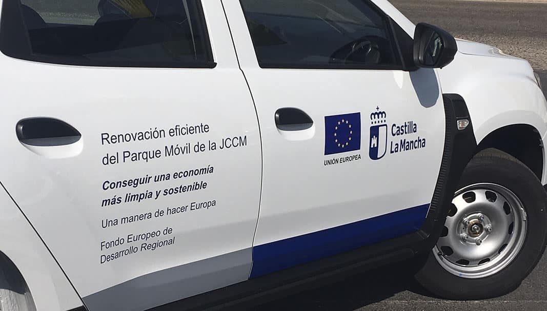 La Junta de Castilla La Mancha incorpora a su flota 21 Duster GLP