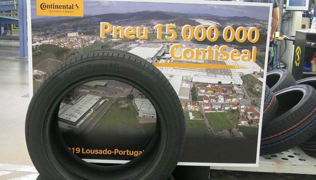 Continental fabrica 15 millones de neumáticos ContiSeal en su planta lusa