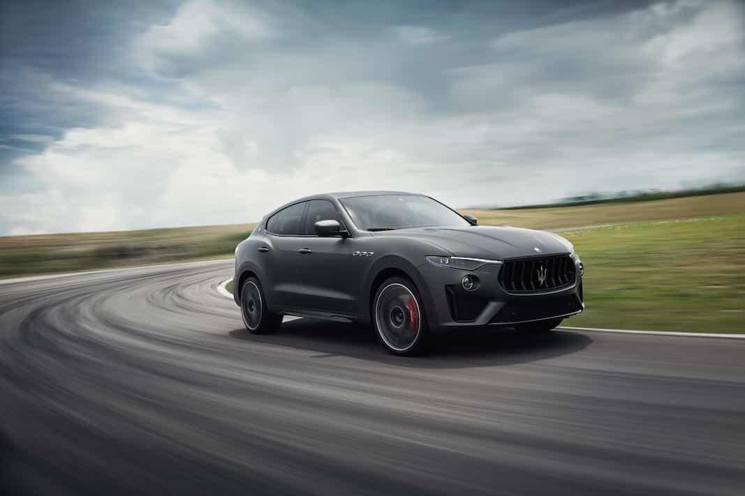 A la venta en España la gama V8 del SUV Maserati Levante