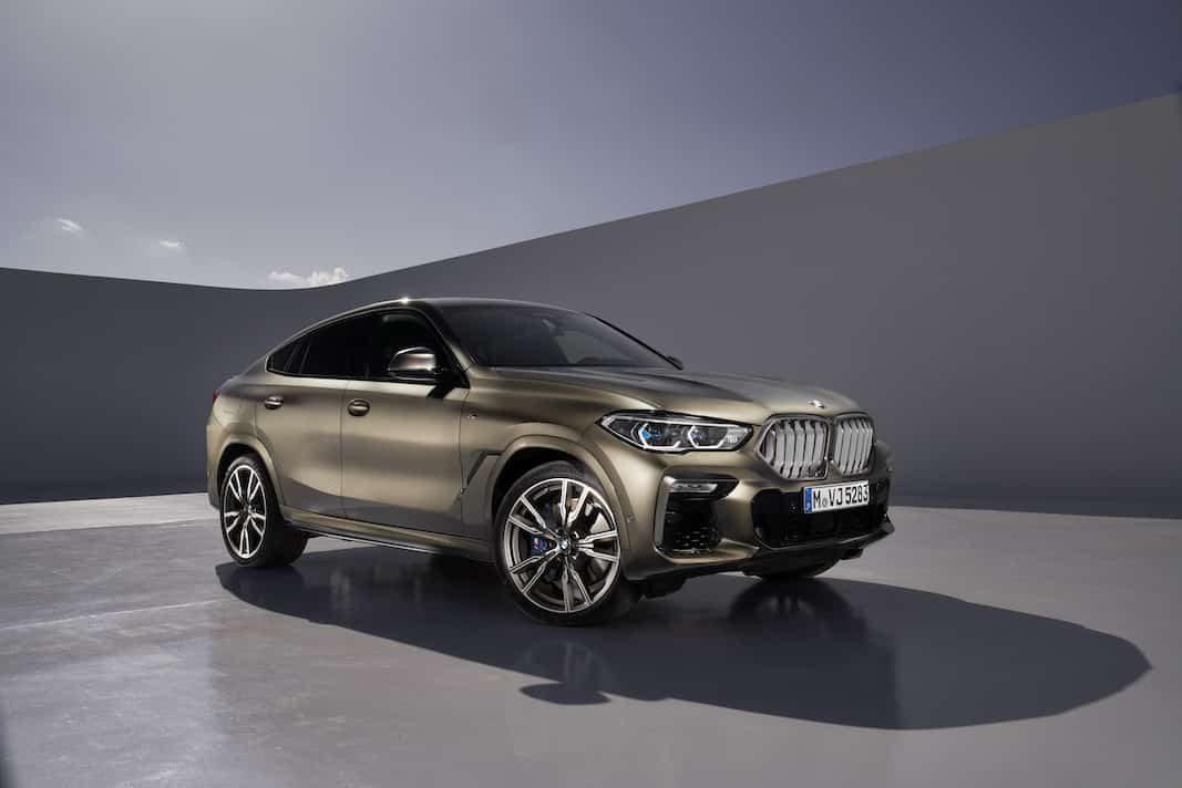 La tercera generación del BMW X6 llegará al mercado en noviembre
