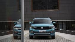 El T-cross es uno de los modelos válidos para la fórmula Step Renting de Volkswagen.