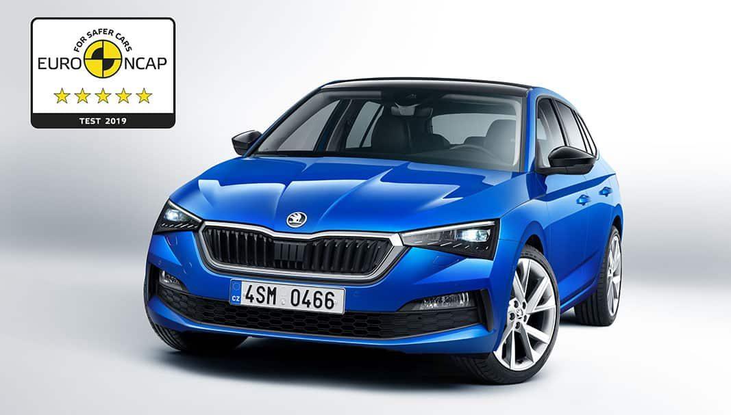 El Skoda Scala obtiene cinco estrellas Euro NCAP