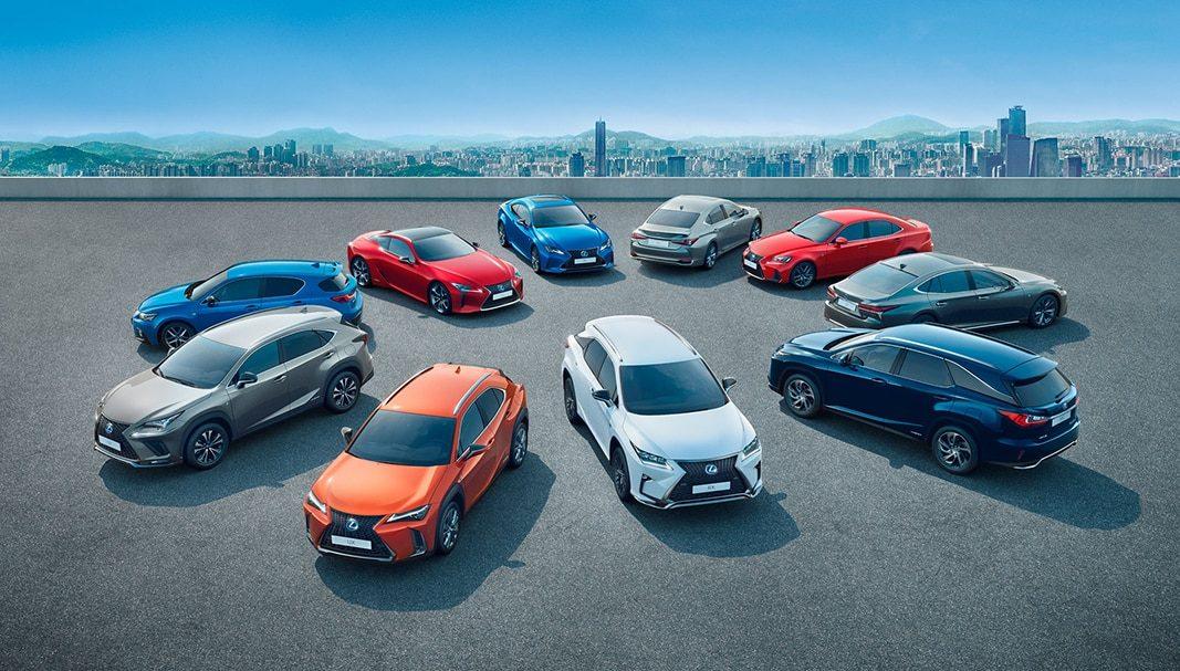 Lexus España entrega un 19% más en el primer semestre del año