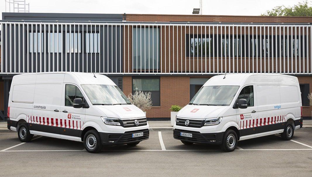Sorigué incorpora a su flota los primeros seis Volkswagen e-Crafter