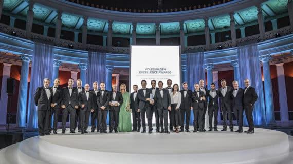 Volkswagen celebra una nueva edición de los premios Excellence Awards