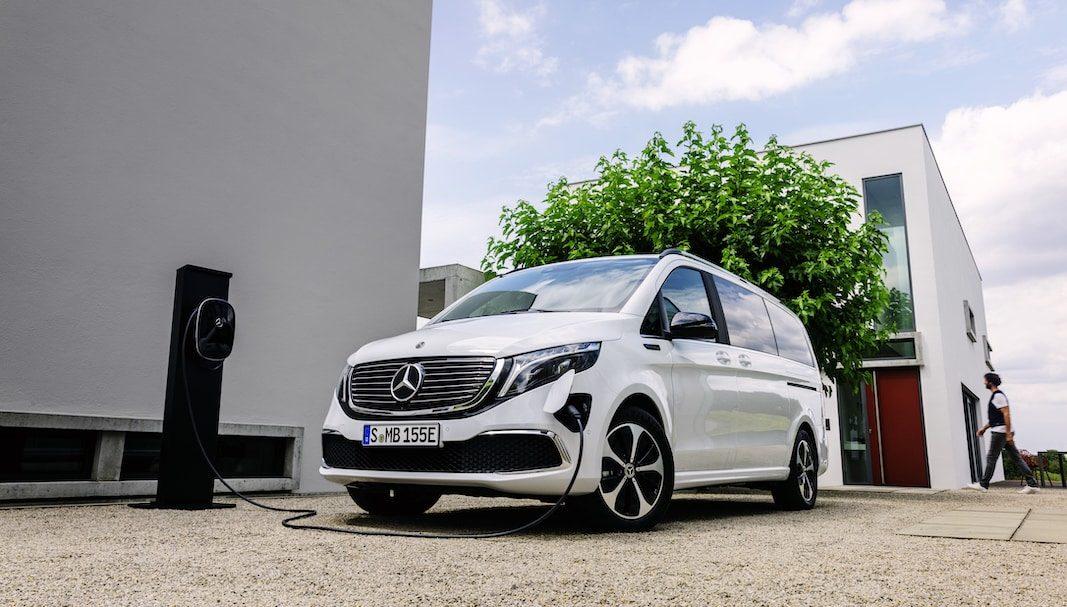 Mercedes-Benz EQV, el primer monovolumen eléctrico de gama alta