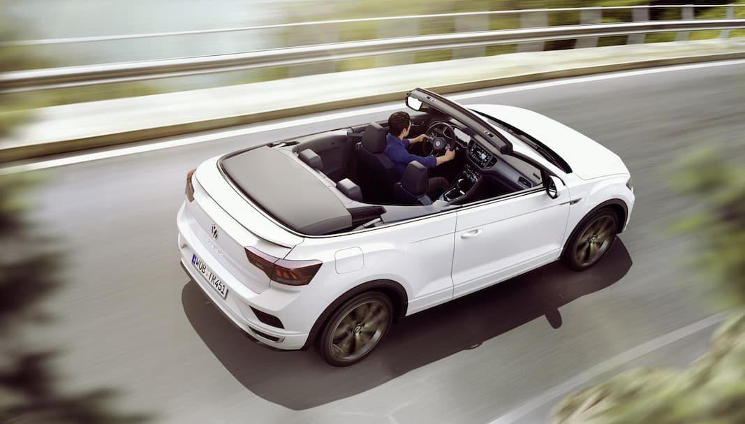 Volkswagen muestra el T-Roc Cabrio, el primer SUV convertible de su tamaño