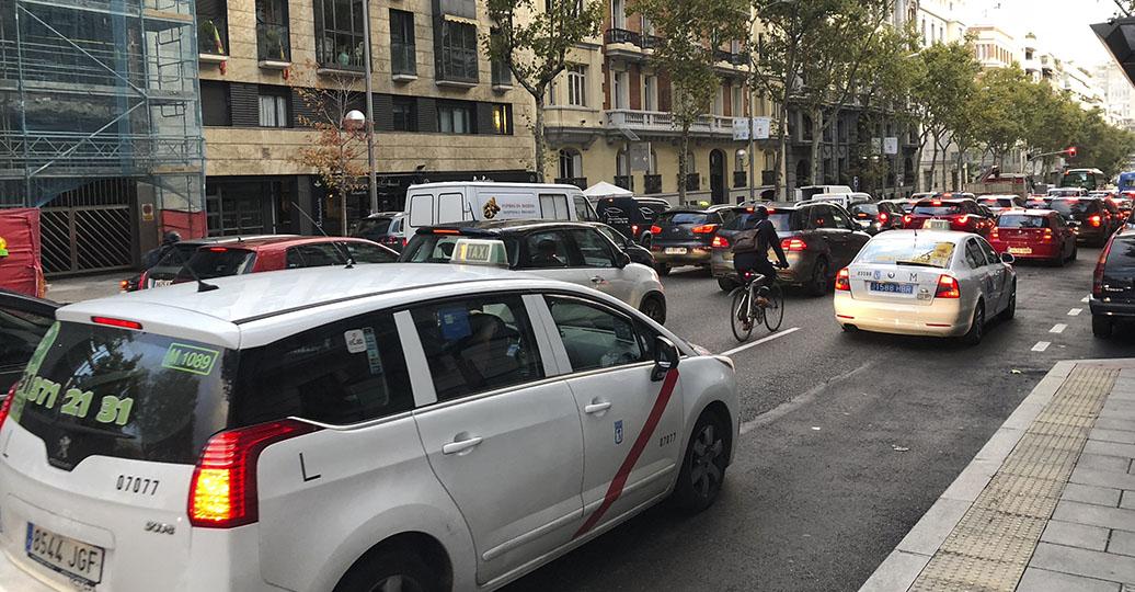 El parque automovilístico español crece un 8% en cinco años