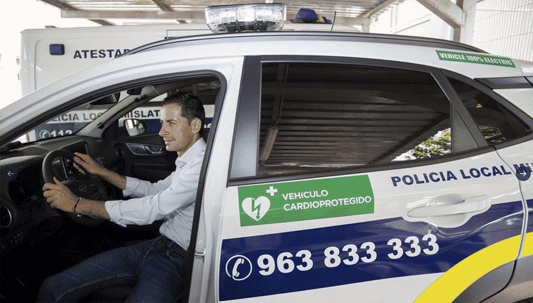 La Policía Local de Mislata incorpora dos vehículos eléctricos a su flota