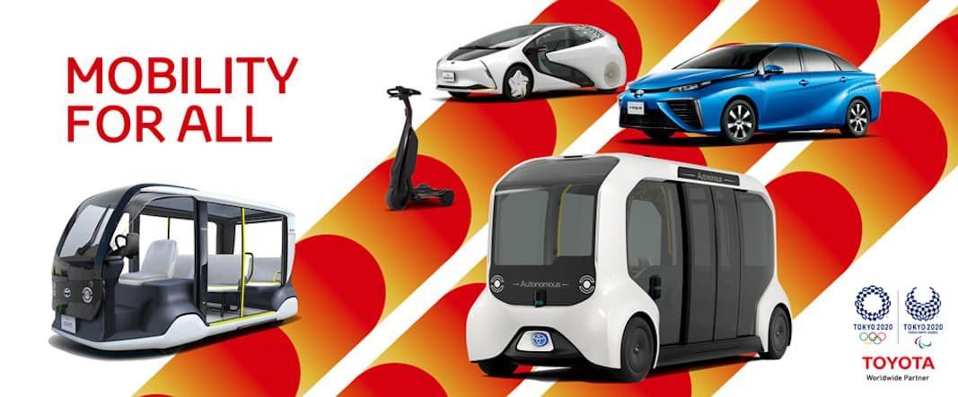 Toyota pondrá 3.700 vehículos a disposición de los juegos Tokio 2020