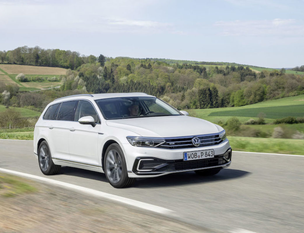 The new Volkswagen Passat GTE Variant