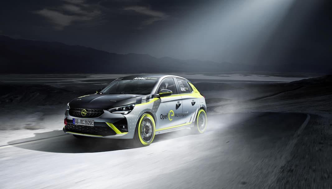 OpelCorsa-e, protagonista de la primera copa monomarca del mundo para coches eléctricos