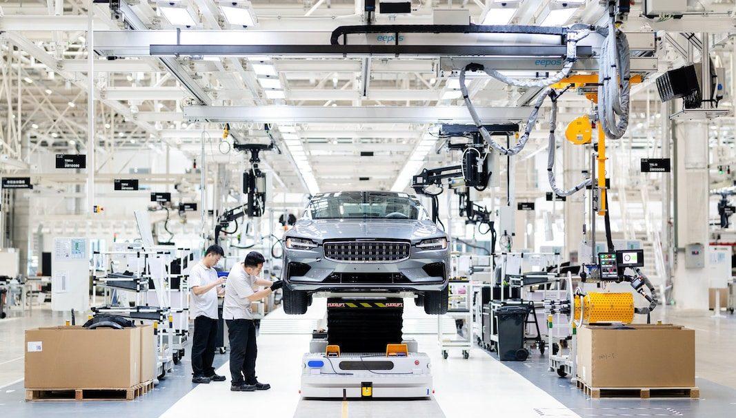 Polestar recibe el identificador de fabricante y empieza a producir en China