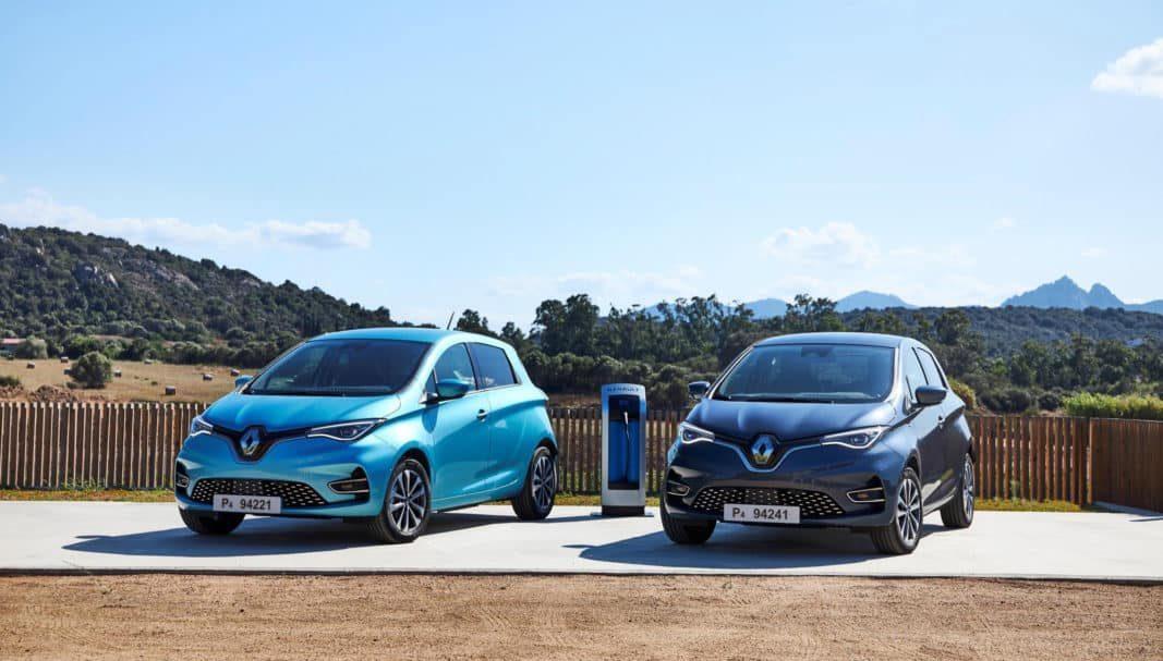 Más potencia y autonomía para el eléctrico ZOE de Renault