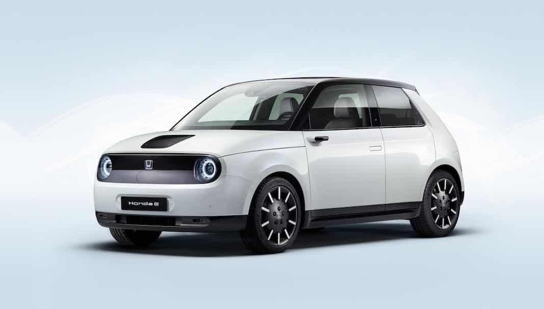 Honda estrena en el Salón de Fráncfort su nuevo eléctrico Honda e